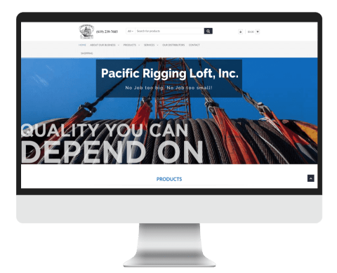 Pacific Rigging Loft Inc. provides expert installation and testing of rigging products by our second to none riggers who are highly experienced in all aspects of rigging from architectural railing to ship rigging. We have been a manufacture of wire rope assemblies for over 80 years. We are specialists who have produced assemblies for countless applications. Our shop is equipped to handle all of your rigging and railing needs, from stainless steel, galvanized wire rope to nylon/manila rope. We have an in-house testing facility for various applications from obstacle course rope to structural cables. We specialize in all aspects of rigging wire rope, chain, architectural cable railing etc. We also stock a wide variety of rigging hardware, connectors, slings, eye bolts, toggle pins, lift assemblies, tools and safety equipment harnesses. We also offer rope dyeing, rope coloration and netting. We provides quote from structural cable railing, testing, wire rope products and installation to tow truck/lift truck cable replacement. Our intent is to give our customers the best possible quality and service for the best price. Call (619) 239-7685 Monday thru Friday 8:00 AM to 04:30 PM to get advise and pricing on all rigging, wire rope issues and products. After hours and weekends to purchase in stock items: e-mail info@pacrig.com