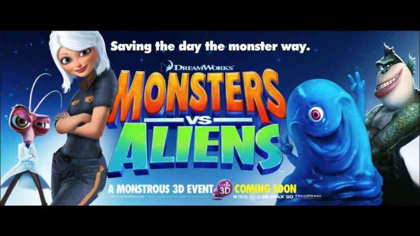 Monsters vs. Aliens (2009) Bluray Google Drive Download