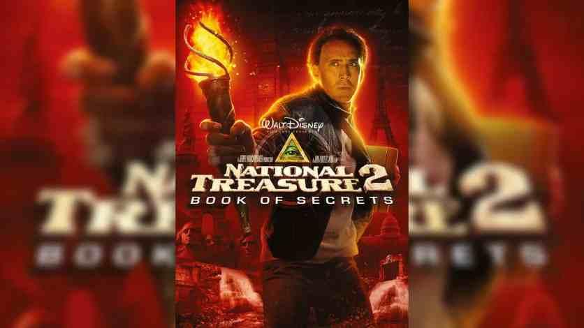 National Treasure Book Of Secrets 2007 1080p Bluray X265 10bit Hevc Dual Audio Esub
