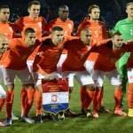 Nyderlandai sutriuškino Latviją, Italijos ir Kroatijos mačas su pertrauka baigėsi lygiosiomis