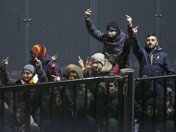 """Reuters""/""Scanpix"" nuotr./""Roma"" sirgaliai Roterdame"