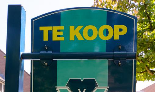 te-koop-sign