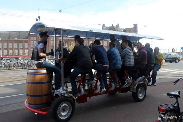 Transportas su alaus bačka