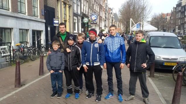 Lietuvos komanda Olandijoje
