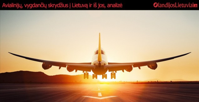 Avialinijų, vygdančių skrydžius į Lietuvą ir iš jos, analizė
