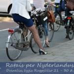 """Dviračių žygis """"Ratais Per Nyderlandus"""""""