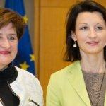 L. Graužinienė ir PLB pirmininkė aptarė svarbiausius klausimus užsienio lietuviams