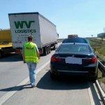 Vokietijoje vogtu BMW nuo Lenkijos policijos sprukęs lietuvis sužalojo pareigūną