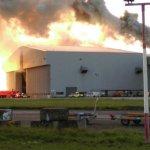 Dublino oro uostą paralyžiavo gaisras