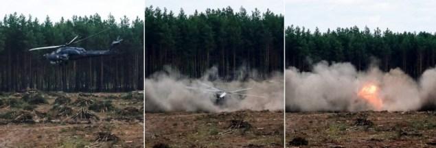 """""""Reuters""""/""""Scanpix"""" nuotr. / Rusijoje aviacijos šventėje sudužo karinis sraigtasparnis, žuvo lakūnas"""