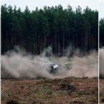 Rusijoje aviacijos šventėje sudužo karinis sraigtasparnis, žuvo lakūnas