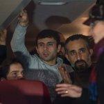Bavarijos meras pabėgėlius autobusu išsiuntė Angelai Merkel į Berlyną