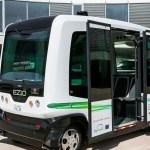 Olandijoje autobusai be vairuotojų važinės pro Vageningeno universitetą