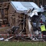Nyderlanduose per traukinio avariją žuvo mažiausiai vienas žmogus
