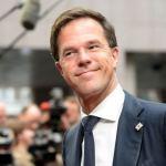 Nyderlandų premjeras Markas Rutte jau muistosi dėl Ukrainos