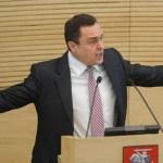 """Petras Gražulis: ,,Siūlau privalomą referendumą dėl grįžimo prie lito"""""""