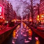 Amsterdamo raudonųjų žibintų kvartale mirė žmogus, bandęs sutrukdyti muštynes