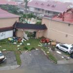 Uraganas Irma siaubia Šv. Martyno salą