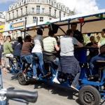 Amsterdamas stabdo alaus dviračius