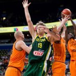 Rungtynes Lietuva–Olandija pasižiūrėjo 700 tūkstančių šalies gyventojų