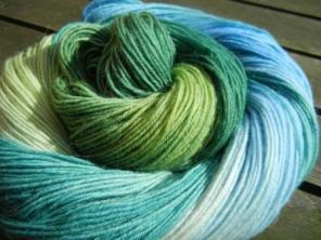 Sowo 4 f blau-grün Kringel