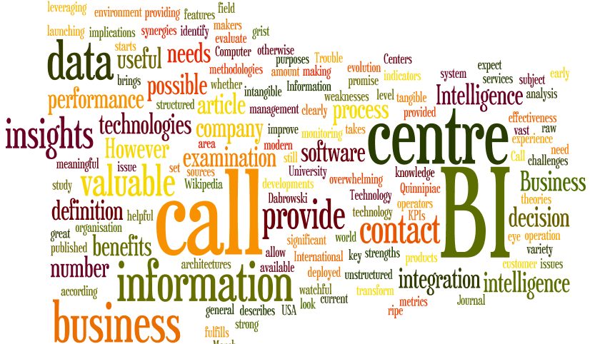 How Business Intelligence Benefits Call Centers