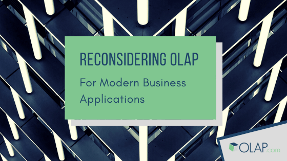 Take a Moment to Reconsider OLAP