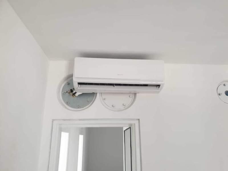 מערכת מיזוג אוויר בחדרים מוגנים