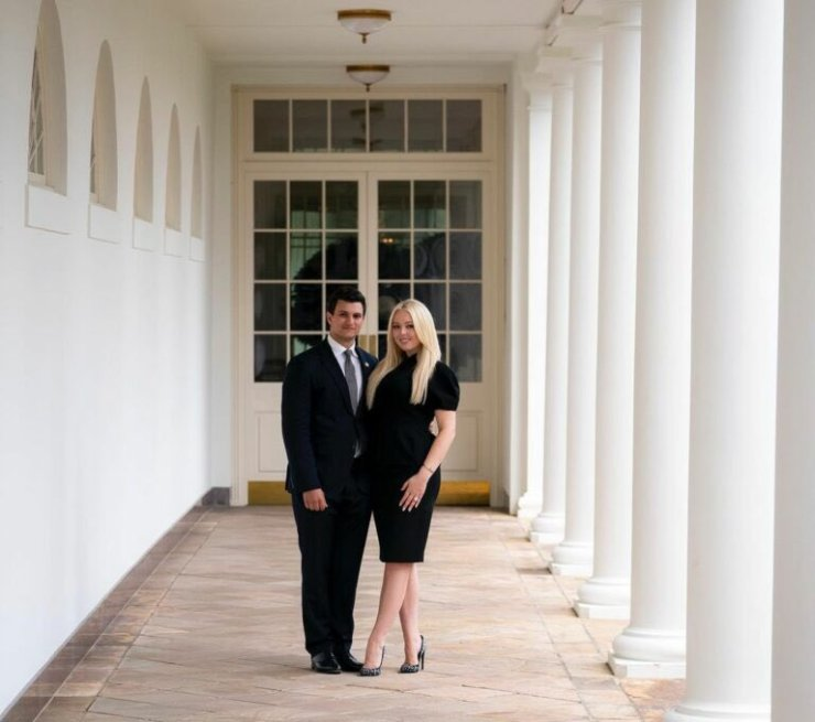 Michael Boulous and Tiffany Trump