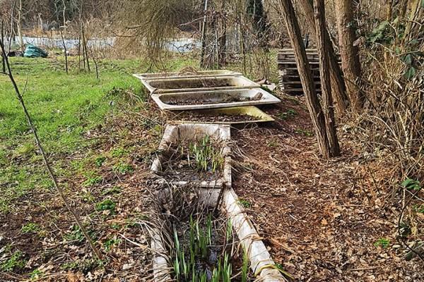 Der Badewannenfriedhof