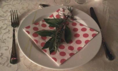 Pöttyös :) vacsora témája a rozmaring volt