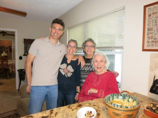 Me, my aunts and Grandma.