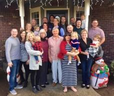 'Grand John and Grandma Jean's Christmas bash.'