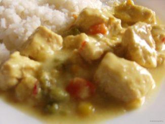 csirkecurry, csirke, curry, indiai