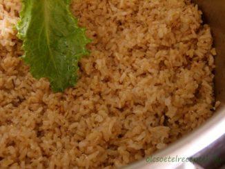 Barna rizs, barnarizs főzése