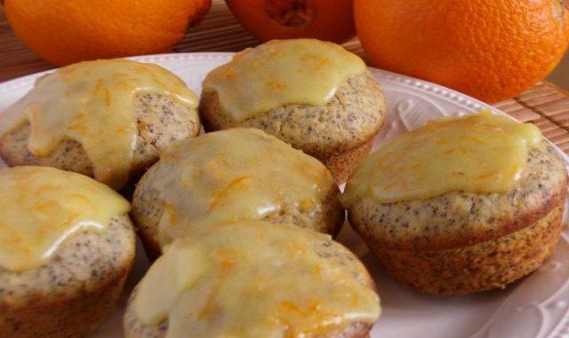 Narancsos-mákos muffin, téli muffin