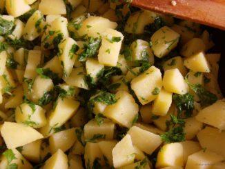 Petrezselymes burgonya, petrezselymes újkrumpli, petrezselymes újburgonya