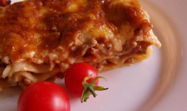 húsos lasagne