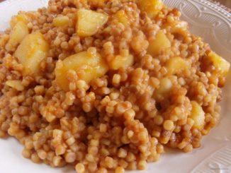 tarhonyás krumpli