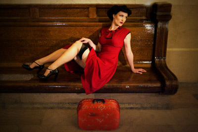 Alice Awaits Danger Dame Dress