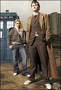 David Tennant as Doctor Who.