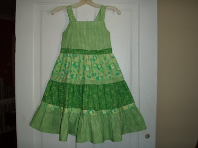 new-vintage little girl's dress