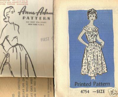 Anne Adams 4754