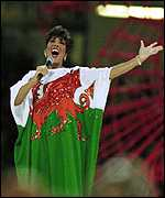 Bassey Wales flag dress