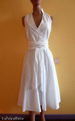 zara broderie anglaise dress