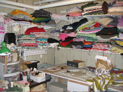 sewing room picture