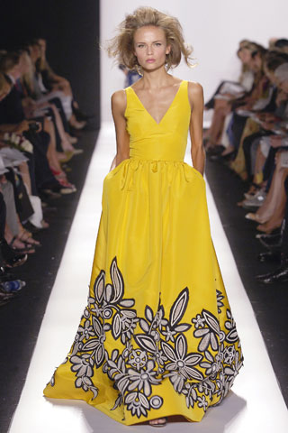 Oscar De La Renta spring collection