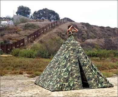 dress tent Robin Lasser