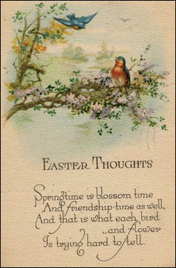 Easter Vintage And Victorian Cards