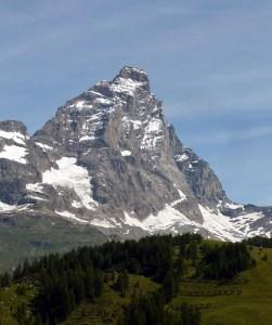 Cervino (4478 m), parete sud e cresta sud-ovest (Cresta del Leone) (da Wikipedia)